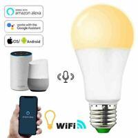 15W E27 B22 LED Wifi Smart Light Bulb Dimmable RGBW Lamp For Alexa Google Home