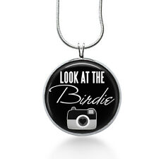 Camera Necklace, Photographer  Necklace- camera, photography, look at the birdie