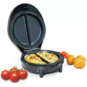 Geepas Omelette Maker Electric Non Stick Egg Fryer Pan 1000W Scrambled Cooker