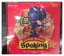JumpStart Spelling (PC) BRAND NEW SEALED -FREE U.S. SHIP -NICE - WIN10, 8, 7, XP