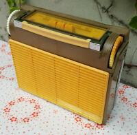 Kofferradio Autovox transmobil Italy Autoradio portable receiver 1965