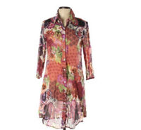 Funky People Shirt Dress Hobo Size Large