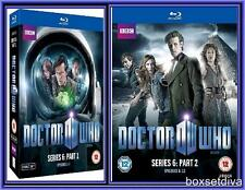 DOCTOR WHO - COMPLETE SERIES 6 - PART 1 & 2 *BRAND NEW BLU-RAY