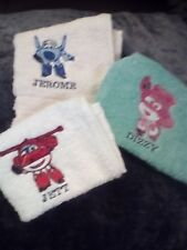 SUPERWINGS 3 PIECE FLANNEL SET/  KIDS SET /MIFFY/MACCA PACKER/UPSY DAISY/DUGGE