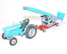Corgi Toys Mettoy 1:43 FORD 5000 SUPER MAJOR Tractor & BELT ELEVATOR Nice Set`66