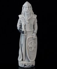 Slavic God Perun Marble Figurine Statue Patron of Thunder Lightning and Clouds