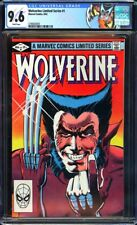Wolverine Limited Series #1 CGC 9.6 1st solo Wolverine!KEY ISSUE!L@@K!