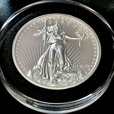 2018 Augustus Saint Gaudens 2 oz 39mm 999 Fine Silver High Relief Medal 20