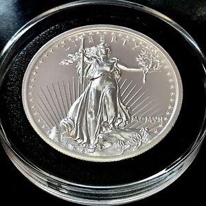 2018 Augustus Saint Gaudens 2 oz 39mm 999 Fine Silver High Relief Medal 20