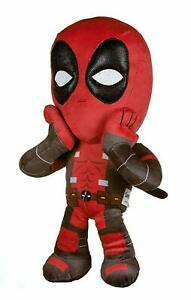 """OFFICIAL MARVEL COMICS DEADPOOL SHOCKED 12"""" LARGE PLUSH SOFT TOY TEDDY"""