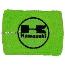 KAWASAKI RESERVOIR SOCKS BRAKE FLUID OIL TANK CUP COVER ZX 6 7 10 14 GREEN&BLACK