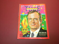 TIME MAGAZINE January 7,1985 PETER UEBERROTH MAN OF THE YEAR high grade NO LABEL