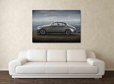 MK2 Jaguar - 30x20 Inch Canvas - Framed Picture Print Wall Art Mark Two