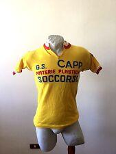 Maglia ciclismo eroica us capp soccorso prato trikot cycling shirt vintage 1975
