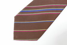 LONGCHAMP  men's silk neck tie made in Italy