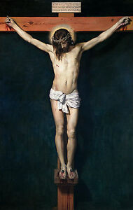 Christ Crucified, Velázquez - Christian Crucifixion, Museum Poster, Canvas Print