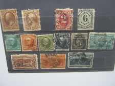 USA - Selection of very early stamps - used