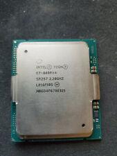 INTEL XEON 22 CORE PROCESSOR E7-8880 V4 2.2GHZ 55MB CACHE 9.6 GT/S QPI CPU SR2S7
