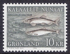 Mint Never Hinged/MNH Fish Greenlandic Stamps