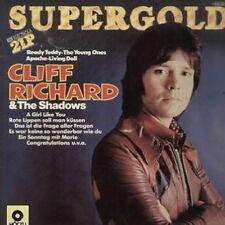 "12"" DLP Cliff Richard & The Shadows Supergold (Living Doll, Ready Teddy)"