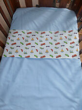 Baby Boy's fitted cot sheet set - handmade