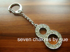 Feng Shui - The Power of 8 Lucky Charm Keychain (Endless Prosperity)