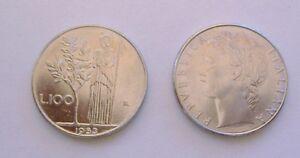 ITALIA/ MONETA 100 LIRE MINERVA BB - ANNO 1983/ COIN CIRCULATED
