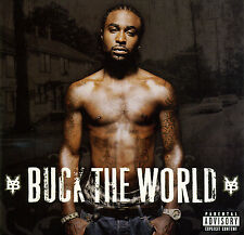 Young Buck BUCK THE WORLD (Retail Promo CD, Album) Uncensored (2007)