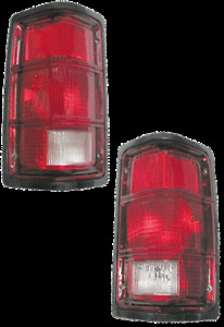 For 81-96 Dodge Pickup Dakota Ramcharger, Left & Right Taillight Light Pair L+R