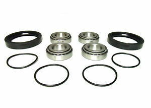 Pair of Front Wheel Bearing Kits for Polaris Replaces 3610019 3554506 3554507