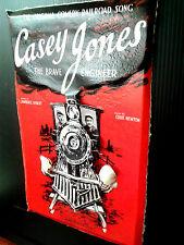 Casey Jones original song Advertising Poster in 3-D Poster size 11x17