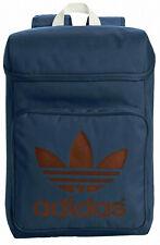 Adidas Originals Classic Trefoil Hiking School Work Boot Gym Bag Backpack Blue