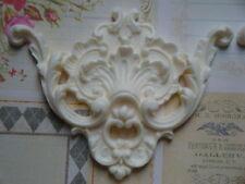 Fancy Baroque Scroll Corner Spandrel Furniture Applique Architectural Onlay