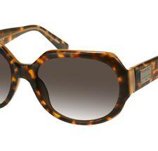 FOSSIL Retro-Look Vintage Damen Sonnenbrille Leopard Havanna braun eUVP*€59,90