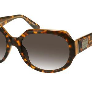 FOSSIL Vintage Damen Sonnenbrille Leopard Havanna braun ehemalige-UVP*€59,90
