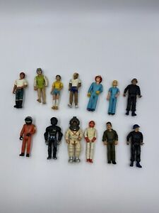 Vintage 1974 Fisher Price Adventure People Tonka Action Figures Lot of 13