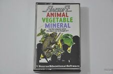 ANIMAL VEGETABLE MINERAL - CPC 464/664/6128 Game - Amstrad - CIB