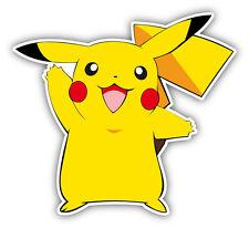 "Pokemon Pikachu vinyl sticker decal. 4""x4"""