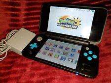 Nintendo NEW 2DS XL + 99 3DS Games - Pokemon Ultra Sun Moon Smash Bros Zelda