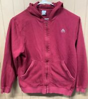 Vintage Nike Full Zip Fleece Lined Sweatshirt; Mens Large; Swoosh Logo; ACG