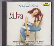 MILVA-Canzoni Italiane CD album CAROSELLO 835 282-2 GERMANY NEAR MINT!
