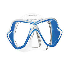 Mares X-Vision Ultra Liquidskin Scuba Diving Snorkeling Mask Blue/Clear
