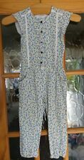 Girls Mothercare Jumpsuit, Size 4 Years, 100% Cotton
