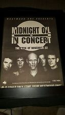 Midnight Oil Rare Original Westwood One Radio Concert Promo Poster Ad Framed!