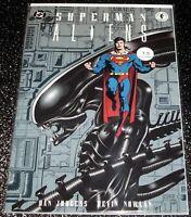 Superman Aliens 1 (7.5) DC/Dark Horse Comics (Mature Readers) Prestige Format
