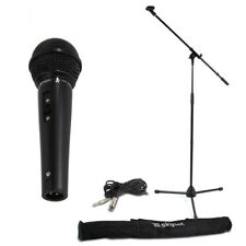 Skytec 180.059 Microphone with Stand & Bag