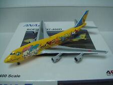 "All Nippon Airways ANA B747-400D ""Pokemon - Pikachu Jet"" 1:400"