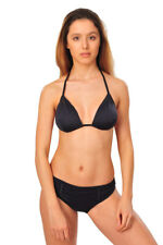 Burberry Bikini Sets Women's L Blue London Plain