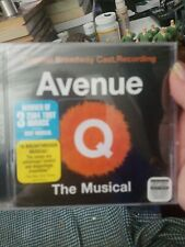 Avenue Q The Musical Original Broadway Cast Recording (RCA Victor New Sealed CD)