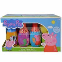 Peppa Pig Bowling Set includes 6 Pins & 1 Bowling Ball
